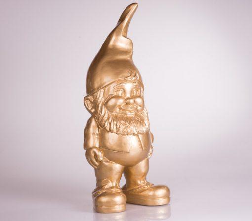 Design Tuinkabouter 20 cm goud