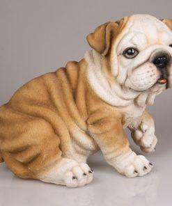Dierenfiguur bulldog hond