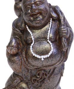 Happy dikbuik boeddha met fles