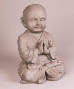 Shaolin monnik beeld meditatie