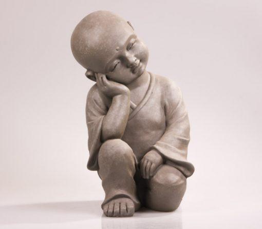 Shaolin monnik beeld relax