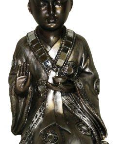 Shaolin monnik geknield