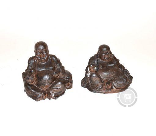 Set Happy Boeddha's zittend